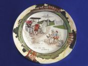 Royal Doulton Early Motoring 'Itch Yer On Guvnor' Rack Plate D2406 c1906